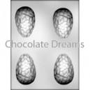 Chocoladevorm 3D Cracked Egg