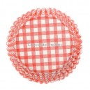 Culpitt Baking Cups Gingham Red