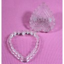 Acrylic Cutter Heart With Impression