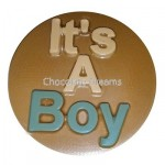 Cookie Chocolate Mold It`s a Boy