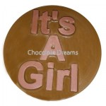 Cookie Chocolate Mold It`s a Girl