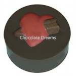 Cookie Chocolate Mold Heart With Arrow