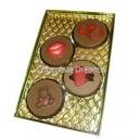 Luxe Cookie Verpakking Voor 4 Stuks