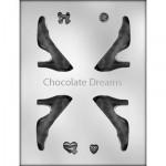Chocoladevorm High Heel Shoe