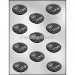 Chocoladevorm Ovaal Love