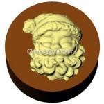 Cookie Chocolate Mold Santa