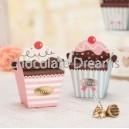 Cupcakedoosje Roze 1 Stuk