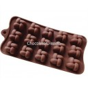 Siliconen Chocolate Mold Knot