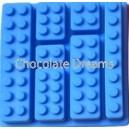Siliconen Mold Legoblokjes Diverse
