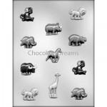 Chcoladevorm Zoo Animal Assorti