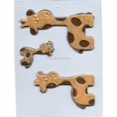 Chocoladevorm Giraffe