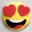 Chocoladevorm In Love Emoji